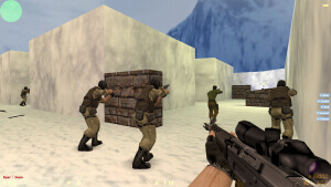 Сборка Counter-Strike 1.6 с Ботами
